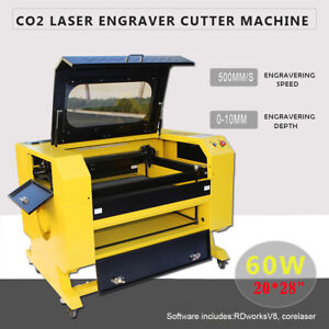 20x28 60w Co2 Laser Cutter Engraver Cutting Engraving Machine Red Dot Ruida Dsp