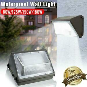 180W LED Wall Pack Commercial Industrial Light Outdoor Security Lighting Fixture $59.88