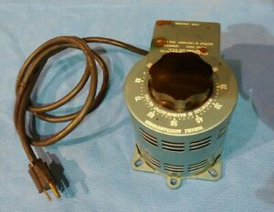 Staco Energy Products Type 3pn1010 Variable Autotransformer Transformer 120 140v