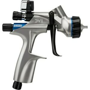 Devilbiss Basecoat Paint Spray Gun Dv1 With Dv1 b Plus Hvlp Air Cap 704504 New