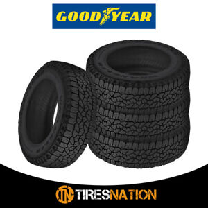 4 New Goodyear Wrangler Trailrunner At 285 70 17 121r Precise Traction Tire