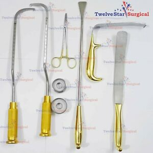 Breast Surgery Instruments Set Of 8 Pcs Plastic Surgery