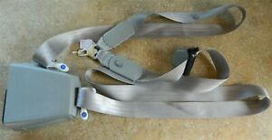88 94 Gmc Chevy Truck Seat Belt Retractor Passenger Extended Cab Light Grey 24