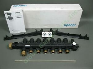 New Uponor A2670701 Ep Radiant Heating Manifold Assembly Single Row 7 loop Nr