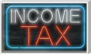 Outdoor Income Tax Neon Sign Outdoor Jantec 37 X 22 Taxes Financial
