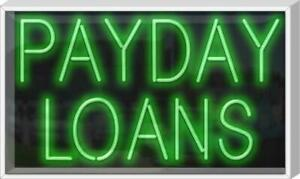 Outdoor Payday Loans Neon Sign Jantec 37 X 22 Loan Money Pawn Shop