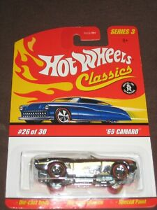 Hot Wheels 2004 69 Camaro Ser 3 26 30 Limited Special Paint Factory Sealed