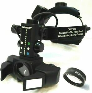 Binocular Indirect Ophthalmoscope With 20d Lens For Ophthalmology Optometry