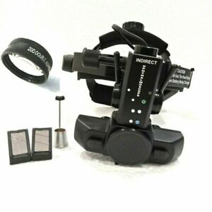 Indirect Ophthalmoscope Led Rechargeable With 20d Lens In Case Free Shipping