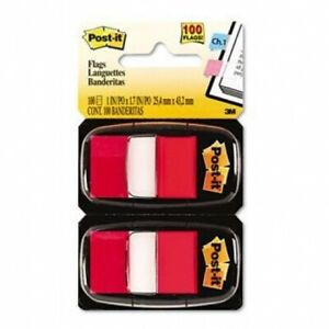 Post it Standard Marking Flags Flag 50fl dsp 12dsp bx rd R330 6ssuc pack Of3