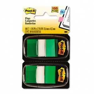 Post it Standard Marking Flags Flag 50fl dsp 12dsp bx gn R330 6fp pack Of3
