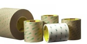 3m 9472le Adhesive Transfer Tape 9472le Clear 12 In X 180 Yd 5 2 Mil