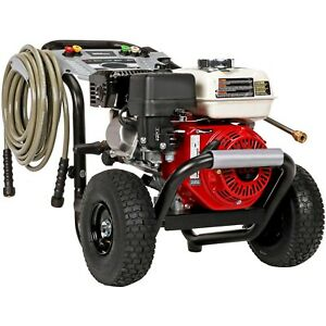 Gas Pressure Washer Cold Water 3500 Psi 2 5 Gpm Aaa Pump Honda Engine