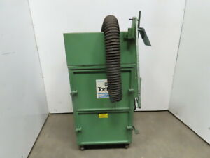 Donaldson Torit Model 64 Cabinet Dust Collector 230 460v 3ph 3600rpm 3 4hp