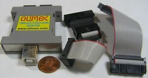 Olimex Tms320 jtag usb Xds100 Usb Not Included