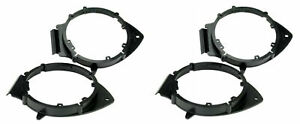 2x Door Speaker Adapter 6 5 Or 6 75 For Buick Cadillac Chevrolet Gmc Saturn F