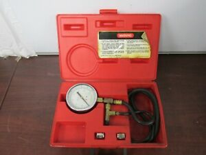 Snap On Tools Mt337a Fuel Injection Pressure Gauge Set 40c