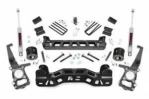 Rough Country 4 Lift Kit fits 2009 2014 Ford F150 2wd W n3 Shocks Suspension