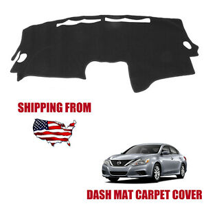 Dashboard Cover Dash Cover Mat Carpet Pad Custom Fit For 2007 2012 Nissan Altima