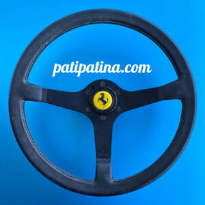 Ferrari Testarossa Steering Wheel 370mm Original By Momo 512 512bb 7 87