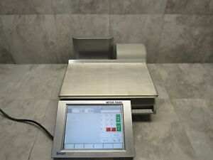 Mettler Toledo Impact M Pact m Deli Bakery Produce Scale W Smarttouch Screen