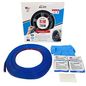 All fit Rim Trim blue Universal Ring Molding Color Wheel Band