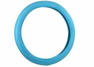 Hyperflex Core Steering Wheel Cover Sparkling Shiny Bling Teal
