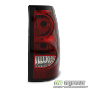 2003 2004 2005 2006 Chevy Silverado Tail Light Lamp W Bulb Wiring Passenger Side