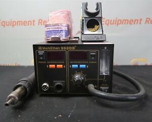 Mark Ethan 968db 4 In 1 Soldering Station Digital Hot Air Rework Station Aoyue