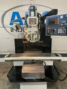 Hurco Hawk 30 Cnc Milling Machine Mill Ultimax 4 Haas Tm1 Prototrak Bridgeport