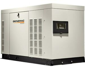 Generac 25 Kw Liquid cooled Protector Series High speed Generator
