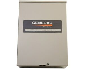 Generac 100 Amp Csa Approved Service Rated Automatic Transfer Switch