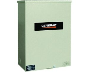 Generac 120 240v Non service Rated Automatic Smart Transfer Switch 200 Amps