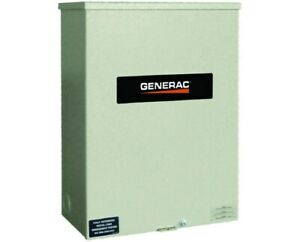 Generac 100 Amps 120 240v Service Rated Automatic Smart Transfer Switch
