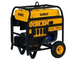 Dewalt 11 700 Watts Portable Generator Electric Start