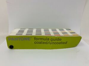 Pantone 1st Edition 2000 2001 Formula Guide Solid Coated uncoated