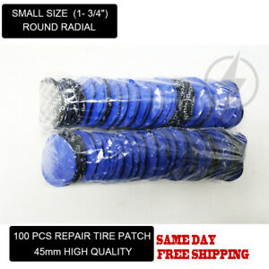 100 Pcs Small Size 1 3 4 Round Radial Repair Tire Patches With High Quality
