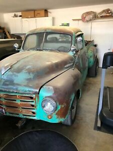 1949 Studebaker Step Side Rat Rod On Chevy Frame 350 Chevy Automatic Powersteer