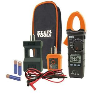 Electrical Maintenance Test Tool Kit W Carrying Pouch Test Leads Batteries