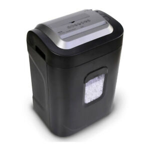 Royal 12 sheet Microcut Shredder With Built in Charging Station silver renewed