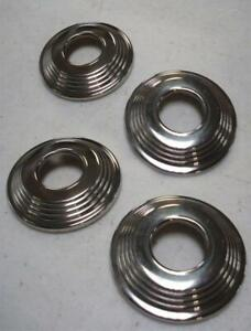 1940 Ford Deluxe Car Door Handle Window Riser Escutcheon Set Of 4 Escutcheons