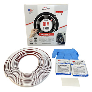 All fit Rim Trim white Ring Molding Color Wheel Band Kit For Ford