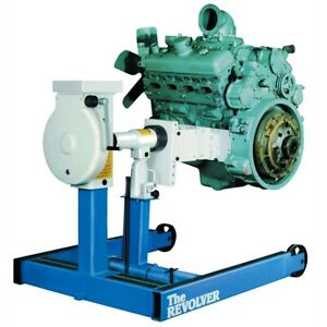 New Isn Otc 6000 Lb Capacity Revolver Diesel Engine Stand With Adapter Assembly