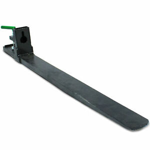 Titan Attachments Clamp On Pallet Fork 47 Inch 6000 Lb Loader Bucket Skid Steer