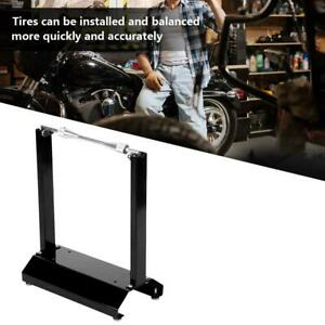 Motorcycle Bike Wheel Balancer Rim Tire Balancing Spin Static Truing Stand Rack