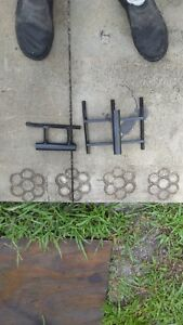 Landscape Curbing Concrete Curbing 2 Solider Slant Or Box Stamps Set