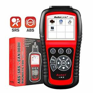 Autel Autolink Al619 Scan Tool With Abs Srs Airbag Warning Light Obd2 Scanner