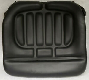 New Taylor Forklift Seat Bottom Cushion Black Padded Vinyl 5594 138