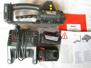 Fromm P327 Cordless Welding Pallet Strapping Banding Bander Tool W Batteries