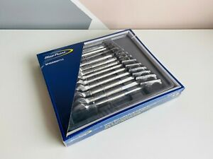 new Blue point 12pc Spline Drive Ratcheting Combination Wrench Set Bpoermsp712